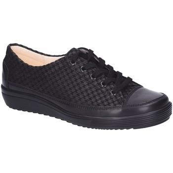 Schuhe Damen Sneaker Low Christian Dietz Schnuerschuhe Locarno schwarz
