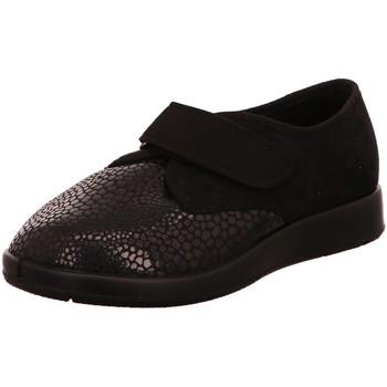 Schuhe Damen Slipper Florett Slipper Zürich 60811-60 schwarz