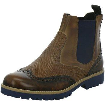 Schuhe Damen Low Boots Elena Italy Stiefeletten 1149 TE -cuoio braun