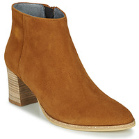 Schuhe Damen Low Boots Myma LASTICO Camel