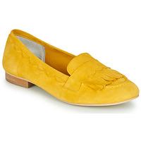 Schuhe Damen Ballerinas Myma LOUSTINE Gelb