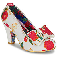 Schuhe Damen Pumps Irregular Choice SUMMER FRECKLES Weiss / Rot