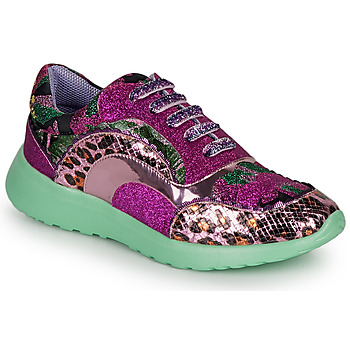 Schuhe Damen Sneaker Low Irregular Choice JIGSAW Violett