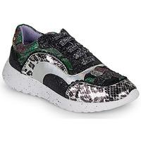 Schuhe Damen Sneaker Low Irregular Choice JIGSAW Schwarz / Silbern