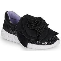 Schuhe Damen Sneaker Low Irregular Choice RAGTIME RUFFLES Schwarz