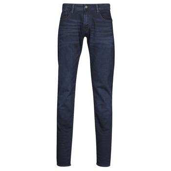 Kleidung Herren Slim Fit Jeans Le Temps des Cerises 711 JOGG Blau / Schwarz