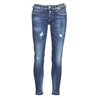 Kleidung Damen Slim Fit Jeans Le Temps des Cerises PULP SLIM 7/8 Blau