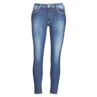 Kleidung Damen Slim Fit Jeans Le Temps des Cerises PULP SLIM TAILLE HAUTE 7/8 Blau