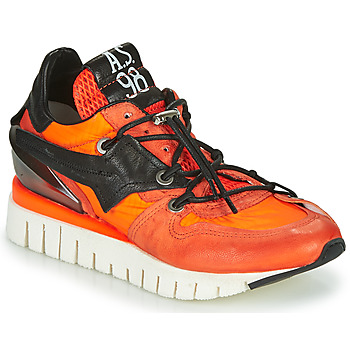 Schuhe Damen Sneaker Low Airstep / A.S.98 DENASTAR Orange