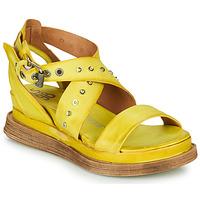 Schuhe Damen Sandalen / Sandaletten Airstep / A.S.98 LAGOS 2 Gelb