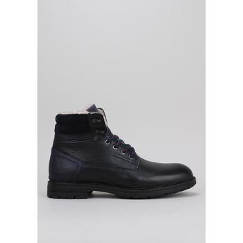Schuhe Herren Boots Krack RUBRA Blau