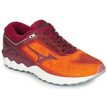 Schuhe Herren Laufschuhe Mizuno SKYRISE Rot / Orange