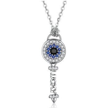 Uhren Damen Anhänger Blue Pearls CRY C2065 J Silbern