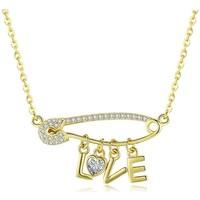 Uhren & Schmuck Damen Collier Blue Pearls CRY C2058 J Multicolor