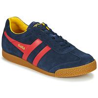 Schuhe Herren Sneaker Low Gola HARRIER Marine / Rot
