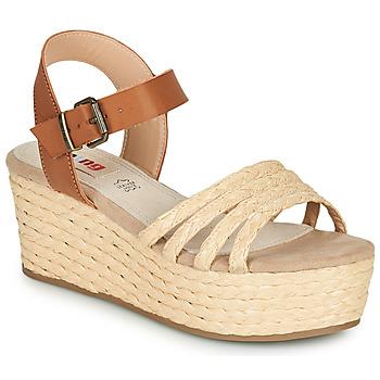 Schuhe Damen Sandalen / Sandaletten MTNG GARISSON Beige