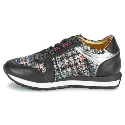 Lola Espeleta SPHINKS Schwarz / Multicolor  Schuhe Sneaker Low Damen 95,20
