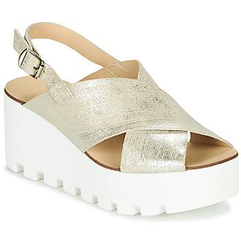 Schuhe Damen Sandalen / Sandaletten Sweet Lemon SUAX Gold