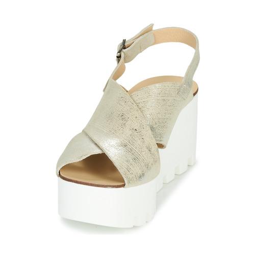 Sweet Lemon Suax Gold - Kostenloser Versand Schuhe Sandalen / Sandaletten Damen 92