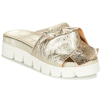 Schuhe Damen Pantoffel Sweet Lemon LOLAI Gold