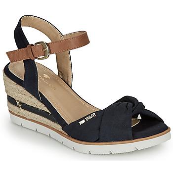 Schuhe Damen Sandalen / Sandaletten Tom Tailor 8090403 Marine