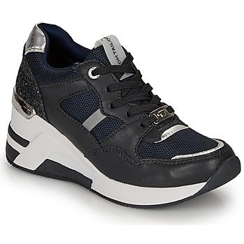 Schuhe Damen Sneaker Low Tom Tailor  Marine / Schwarz
