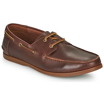 Schuhe Herren Derby-Schuhe Clarks PICKWELL SAIL Braun