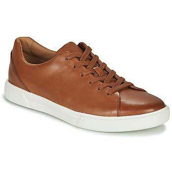 Schuhe Herren Sneaker Low Clarks UN COSTA LACE Braun