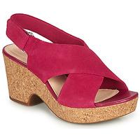 Schuhe Damen Sandalen / Sandaletten Clarks MARITSA LARA Rose