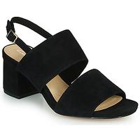 Schuhe Damen Sandalen / Sandaletten Clarks SHEER55 SLING Schwarz