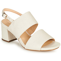Schuhe Damen Sandalen / Sandaletten Clarks SHEER55 SLING Weiss