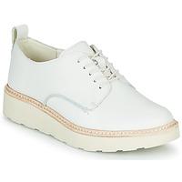 Schuhe Damen Derby-Schuhe Clarks TRACE WALK Weiss