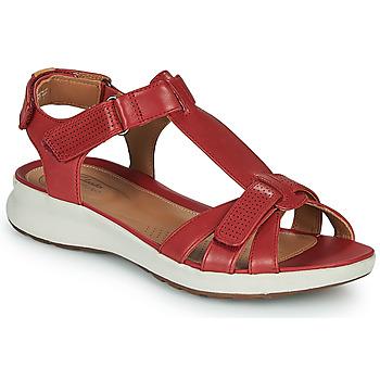 Schuhe Damen Sandalen / Sandaletten Clarks UN ADORN VIBE Rot