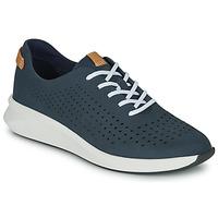 Schuhe Damen Sneaker Low Clarks UN RIO TIE Blau