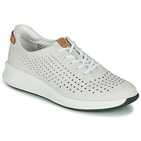 Schuhe Damen Sneaker Low Clarks UN RIO TIE Weiss