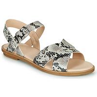 Schuhe Damen Sandalen / Sandaletten Clarks WILLOW GILD Grau