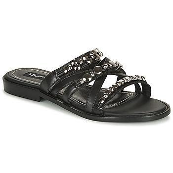 Schuhe Damen Pantoffel Tosca Blu CUBA Schwarz