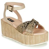 Schuhe Damen Sandalen / Sandaletten Tosca Blu MOOREA Beige