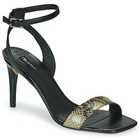 Schuhe Damen Sandalen / Sandaletten Tosca Blu LA-DIGUE Schwarz / Gelb