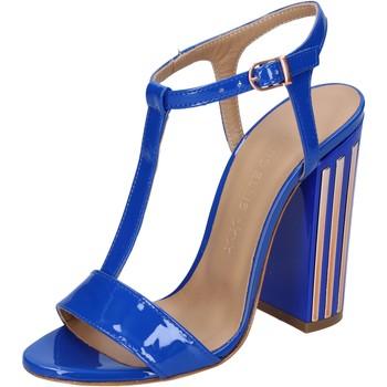 Schuhe Damen Sandalen / Sandaletten Marc Ellis sandalen lack blau