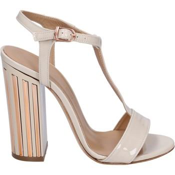 Schuhe Damen Sandalen / Sandaletten Marc Ellis sandalen lack beige