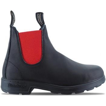 Schuhe Herren Boots Blundstone | 508 El Side Boot, schwarz | BST_BCCAL0020 0508 888 Noir
