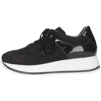 Schuhe Damen Sneaker Low Mg Magica GA02G Sneaker Frau schwarz schwarz