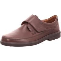 Schuhe Herren Slipper Sioux Slipper Parsifal 35422 braun