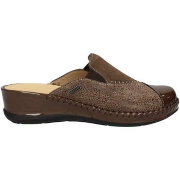 Schuhe Damen Pantoletten / Clogs Susimoda 6907/58 TAUPE
