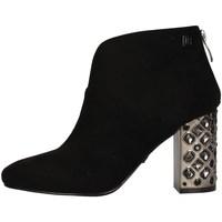 Schuhe Damen Ankle Boots Laura Biagiotti 5757 BLACK