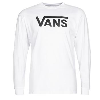 Kleidung Herren Langarmshirts Vans VANS CLASSIC Weiss