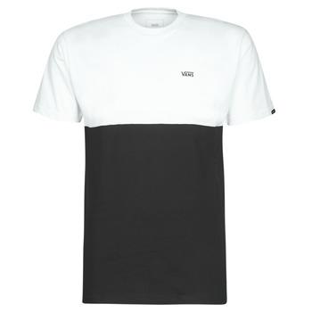 Kleidung Herren T-Shirts Vans COLORBLOCK TEE Schwarz / Weiss