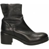 Schuhe Damen Low Boots Ernesto Dolani ALFA nero-antracite