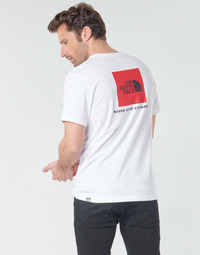 Kleidung Herren T-Shirts The North Face S/S REDBOX Weiss